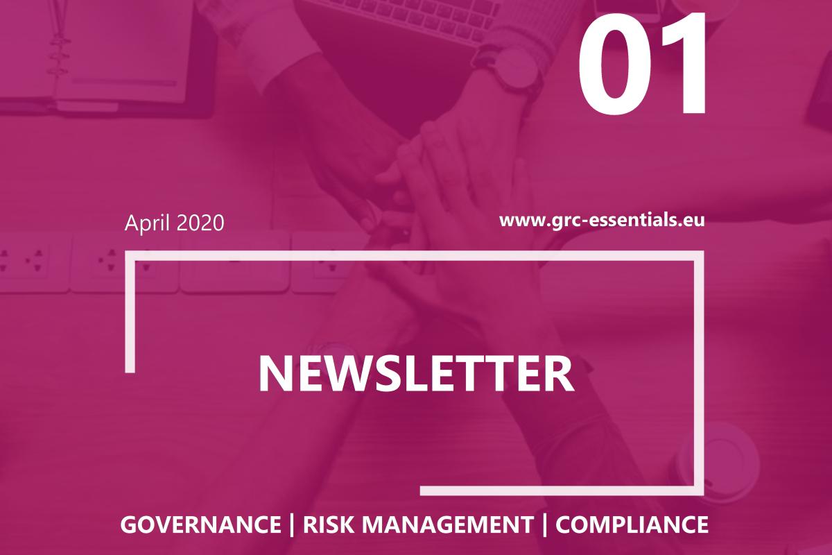 GRCEssentials Newsletter 1 EN